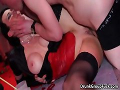 Horny groupsex babes getting fucked part3