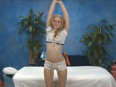 Blonde teen cutie avril hall getting naughty in solo teasing