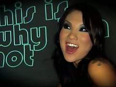 Asa Akira is a hot nympho who loves it when she's being fucked