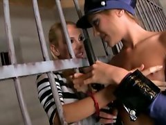 Vega Vixen is a prisoner of love to police officer Anita Pearl