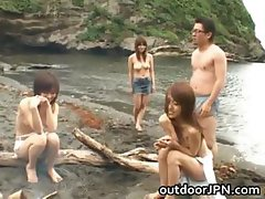 Arisa Kanno Asian babe and friends part4