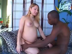 Pregnant Kayla  Black Cock Addicted