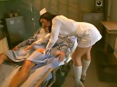 Lucky patient gets his hard dick rode by Hot horny nurse Ava Rose