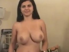 Casting Larissa Busty Brazilian SF Huge Facial