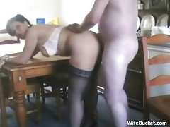 Mature amateurs home sex