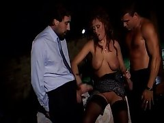 Krystal De Boor - Ladys fucked by two guys