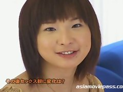 Japanese babes get facialized with lesbian friends