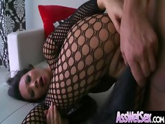 Big Butt Oiled Girl Get Anal Fucked clip-06