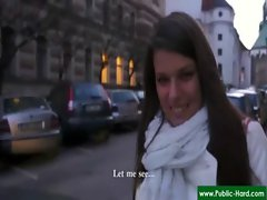 Public Pickups - Nude Czech Girls Get Paid For Public Sex Acts 24