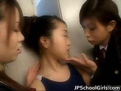 Extremely hot japanese schoolgirls
