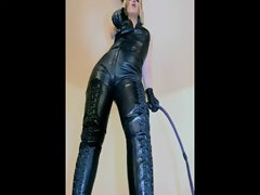 Mistress is fond of her dominating gear