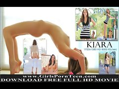 Kiara natural brunette babe amateur pussy solo