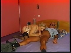Granny with a chubby body desires hard dick