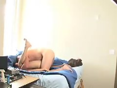 Dad and His Boy Fuck on Cam