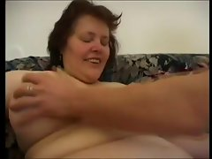 Mature Hairy BBW Playing and Fucking