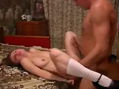 young girl &, old man good fuck