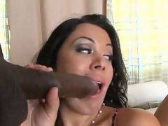 Wife asks hubby to watch her go black