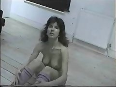 British Nudist Milf Lorraine Ward Nude Workout