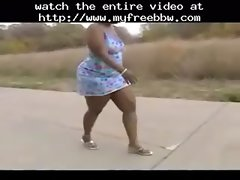 Black Fatty Walking Fatty heavy bbbw sbbw bbws big beautiful woman porn obese fluffy cumshots cumshot heavy