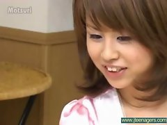 Wild Screwing A Sensual japanese Barely legal teens Young lady vid-30