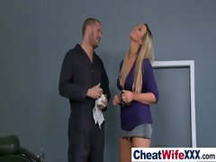 Chesty Dirty wife Get Wild Sex clip-01