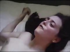 Husband sharing his dirty wife with stranger