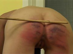 Brutal Caned Lass 10