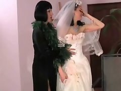 Slutty mom fuck bride