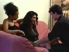 french ebony, latina and white lasses in explicit play