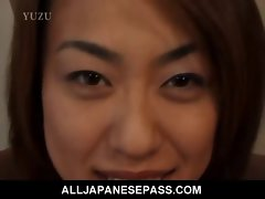 Chesty Aya Kurosaki delights her body being oiled up