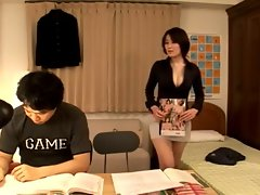 Sensual japanese Mom' s First Lesson...F70