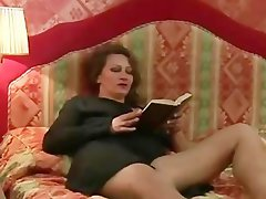 Shaggy Bush Attractive mature Slutty russian Cougar and Fellow