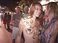 Slutty chicks Going Wild Fantasy Fest - Part 3